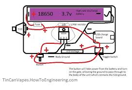 mod wiring diagram for tin schematics wiring diagram tin can e cig vape builds how to diy vapes p4 car wiring diagrams mod wiring diagram for tin