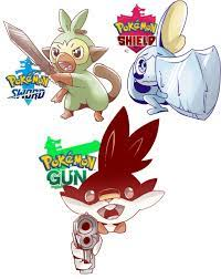 Rocking it Pokemon Sword , Shield & Gun..!! :P: PokemonSwordAndShield