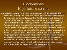 engaging students using current topics in chemical research st  9 biochemistry