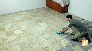 how to remove vinyl tile from concrete floor l removing small bathroom empty lobby wi