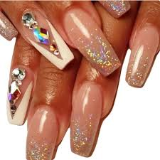 Aliexpress.com : Buy 10pcs glitter crystal 3d nail art flat back ...