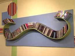 build a wave shaped cd rack