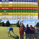 Also scored a double eagle/albatross! 478 yard #8, holed out from ...