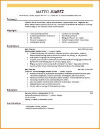 career live resume