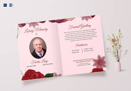 Microsoft Publisher Program Template Memorable Funeral Greeting Cardemplate Program Word