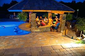patio with pool simple. Fine With Modern Patio With Pool Simple And Other Bar Ideas Inspiration For A Large  Timeless Backyard Stone P