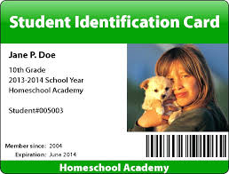 Identity Card Format For Student High School Id Card Template Teacher Student 4 Crugnalebakery Co