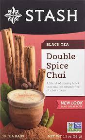 Stash <b>Double Spice</b> Chai <b>Black Tea</b>, 18 ct - Lynogenwennon