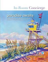 In Room Concierge 2019 20 Daytona Beach By See Coastal Media