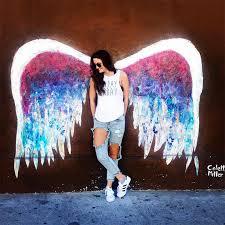 angel wings wall art los angeles
