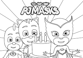 It is shown on the channel daily and is also shown on the disney junior on disney channel block. Free Printable Pj Masks Coloring Pages For Kids