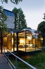Metal Frame Houses Modern Steel Framed Home In Super Minimalist Interior Design