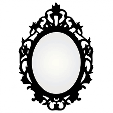 mirror clipart black and white. mirror clip art free clipart images 3 black and white i