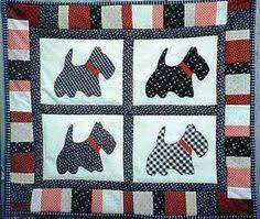 Scottie baby quilt | ARTS & CRAFTS | Pinterest | Quilt, Babies and ... & Scottie baby quilt | ARTS & CRAFTS | Pinterest | Quilt, Babies and Baby  quilts Adamdwight.com