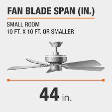 in led matte black ceiling fan with