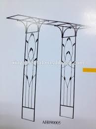 Small Picture Metal Garden Arch Designs Garden Arch With Flat Top Garden Flower