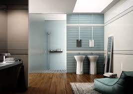 contemporary guest bathroom ideas. Bathroom, Contemporary Guest Bathroom Ideas Polish Brown Plastic Swing Door Stainless Steel Towel Rack Majesty O