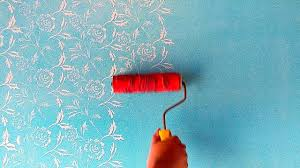 Royale Play Paint Design Images Flower Wall Painting Royale Play Design Intzar Malik
