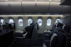 businessfirst seats in united s boeing 787 dreamliner image by chris sloan airchive