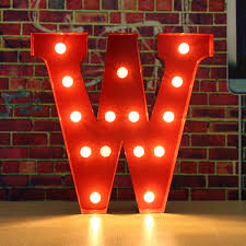 12inch Alphabet Led Letters Light Standing Hanging Up Wedding Party