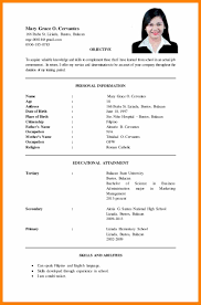 Examples Of A Resume Objective Resume Objective Examples For Ojt Sample Hrm New Example Job