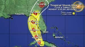Tropical Storm Elsa – CBS Miami