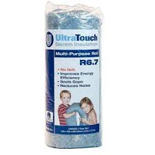 ultratouch r 6 7 denim insulation roll 16 in x 48 in 60301 16482 the home depot
