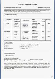 Brilliant Ideas Of Resume Format For Bank Jobs Freshers Pdf