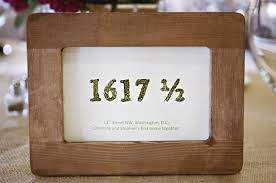 Personalised numbers are becoming more popular  either number your tables  sequentially or choose completely random