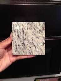 Santa Cecilia Light Granite Kitchen Scottsdale Maple Expresso Cabinets And Santa Cecilia Light Granite