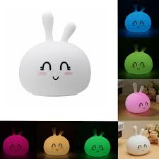 Tap Touch Night Light Usb Rgb Rechargeable Cute Silicone Led Night Light Tap Touch Atmostphere Light For Kid Sleeping