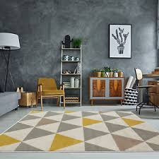 grey living room rug. Image Is Loading Yellow-Mustard-amp-Grey-Geometric-Rug-Ochre-Nordic- Grey Living Room Rug R