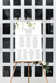 Seating Chart Wedding Fluttering Seating Chart