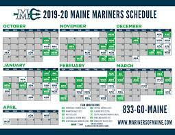 MARINERS ANNOUNCE FULL 2019-20 SCHEDULE ...