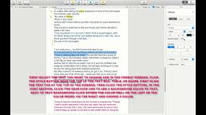 text in a pages doent mac