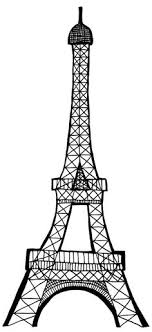 eiffel tower bathroom decor  eiffel tower silhouette transparent png clip art image torre