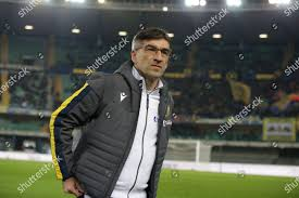 Hellas Veronas head coach Ivan Juric during Editorial Stock ...