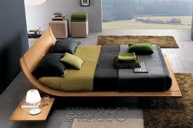 modern platform bed wood. Aqua Designer Platform Bed By Presotto Modern Wood