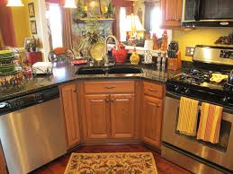 a small country kitchen decor popular