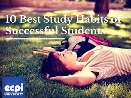 best study habits of successful students university 10 best study habits