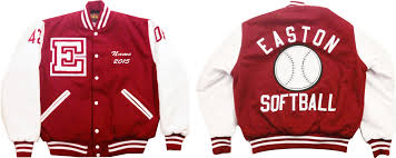 we offer letterman jackets with quilted lining in your school colors jackets are personalized for you and can include your sport or sports on the back