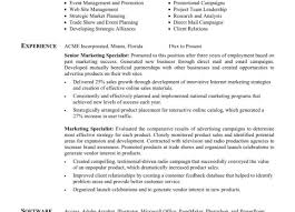 Marketing Resume Format Resume Samples For Job