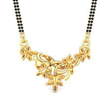 garima gold mangalsutra pendant jewellery ping india yellow gold 22k candere by kalyan jewellers