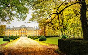 Small Picture Modern Beautiful Chateau Colorful Road Sky Trees Nature Palace