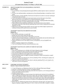 Apartment Manager Resume Apartment Manager Resume Samples Velvet Jobs 20