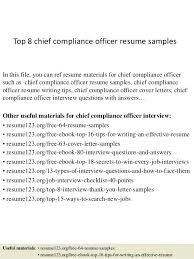 Ethics And Compliance Officer Sample Resume Mesmerizing Compliance Manager Resume Top 48 Chief Compliance Officer Resume