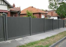 new metal fence panels