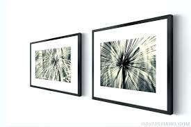 wall art set of 4 framed art sets abstract grass from flower power collection black and white photography 2 piece wall framed art sets botanical wall art