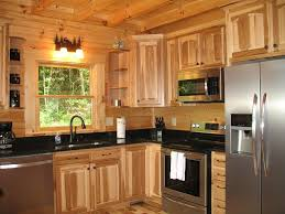 Kitchen Decorating Ideas With Hickory Cabinets Kitchen Appliances