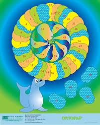 Kids Eye Patching Reward Posters 1 Fish Poster 1 Seal Poster